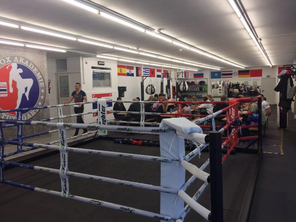 Weihnachtsfeier Thaibox Akademie Stuttgart 2016